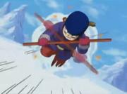 Goku ataca la Torre d'Acer