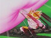 Goku reflecteix bola de mort