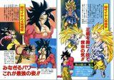 Secció Formes Goku arxius perfectes GT
