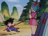 Trobada Goku i Bulma