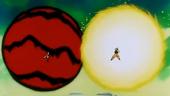 Xoc de poders Goku i Freezer