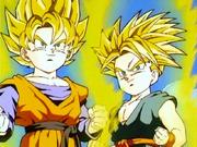 Goten i Trunks superguerrers pel·lícula renéixer fusió