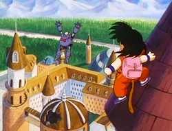 Goku a teulada quarter general ECV