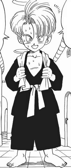 Trunks manga