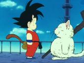 Goku coneix Karin