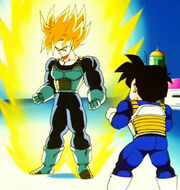 Goku SGA i Gohan