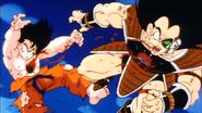 Raditz i Goku travessats