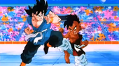Goku vs Uub
