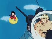 Goku persegueix Blue
