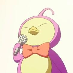 Intèrpret de l'himne de l'univers anime