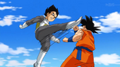 Vegeta ataca Goku BDS