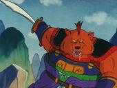 El primer adversari d'en Goku