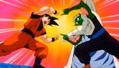 Goku i Cor Petit ensenyen fusió