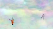 Vegeta i Goku a lloc