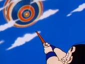 Goku arribant al Palau de Déu