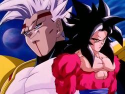 Goku ssj4 Baby Vegeta