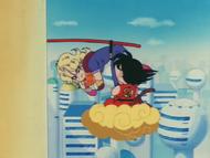 Goku atura Hasky