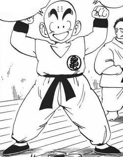 Krillin manga