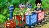 Família Vegeta tren