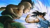 Uub es llança contra Goku