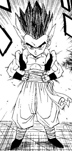 Gotrunks manga