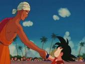 Salutació Nam i Goku