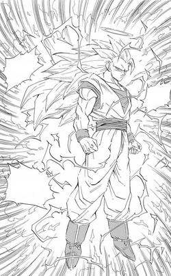 Goku 3r nivell manga