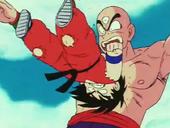 Goku cop de cap contra Ten
