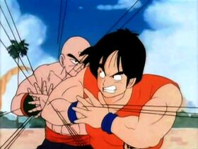Yamcha vs Ten Shin Han