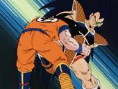 En Raditz ataca a en Goku