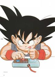 Goku petit SNES