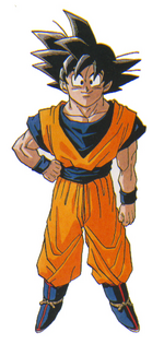 Goku manga adult