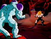 Freezer i Goku cara a cara