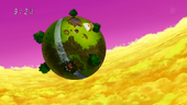 Planeta Kaito i Goku derrotat