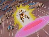 Disc persegueix Goku