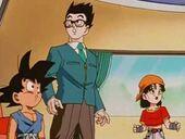 Goku, Pan i Gohan escolten kaito