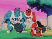 Goz, Mez i Goku