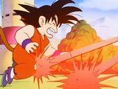 Goku ferit per Satanàs