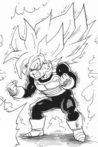 Son Gohan superguerrer manga