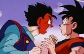 Gohan enfadat amb Goku