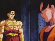 Goku i Broly primera vegada
