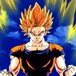 En Son Goku superguerrer de fase 2