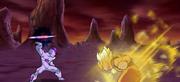 Freezer vs Goku Shin Budokai