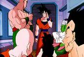 Goku a avió Yamcha
