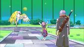 Trunks, Kaioshin i Tokitoki