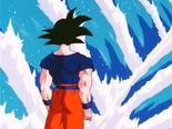 Goku entrenant després de curar-se