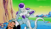 Freezer agafant Vegeta