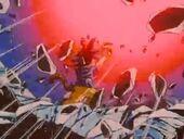 Goku atura bola negativa