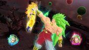 Goku SG3 vs Broly SG3L