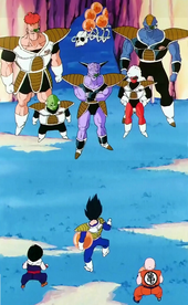 Forces Especials vs Gohan, Krilin i Vegeta